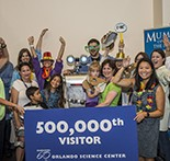 500,000 guests arrive at the Orlando Science Center, June 12, in Port Canaveral, FL, photo by Roberto Gonzalez