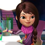 """MILES FROM TOMORROWLAND - """"The Discovery Expedition"""" - Loretta uses her coding skills to discover a hidden planet. This episode of """"Miles From Tomorrowland"""" premieres Friday, December 4 (10:30 AM - 11:00 AM ET/PT) on Disney Junior. (Disney Junior) LORETTA"""