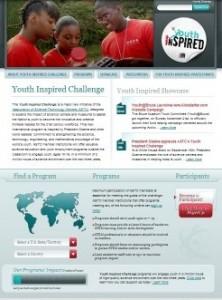 YIC website screen shot