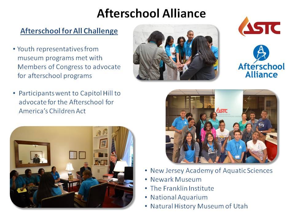 Afterschool Alliance slide for site 2