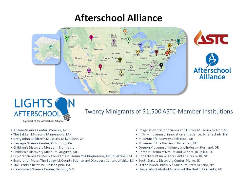 Afterschool Alliance slide for site
