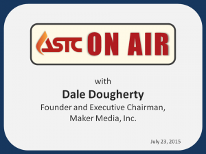 ASTC On Air-July 23, 2015