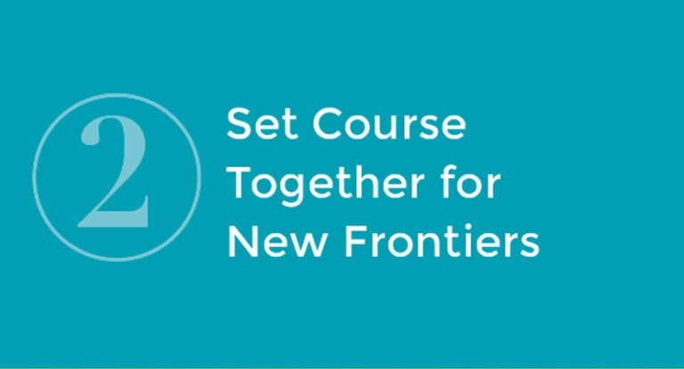 2: Set Course Together for New Frontiers