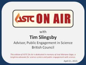 ASTC On Air-April 21, 2015