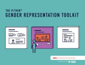 Cover page of IF/THEN Gender Representation Toolkit.