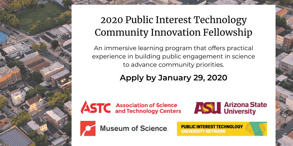 Public Interest Technology Community Innovation Fellowship