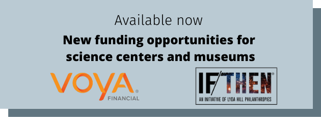 New funding opportunities from Voya and IF/THEN