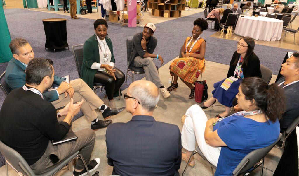 People meeting at ASTC 2019