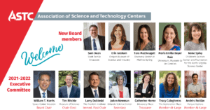 Welcome to new ASTC Board and Executive Committee members